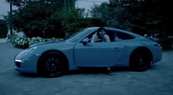 Porsche 911 [991] car driven by Wiz Khalifa in OUT ALL ...