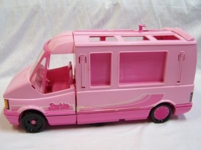 Barbie Motor home. My sister had this when we were growing up and I remember BEGGING her to let me play with it!