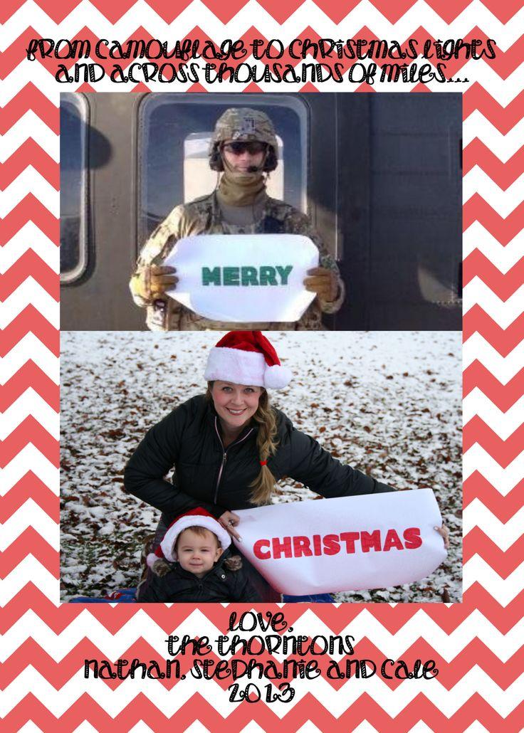 Christmas Cards For Military - Christmas during War Time - David ...