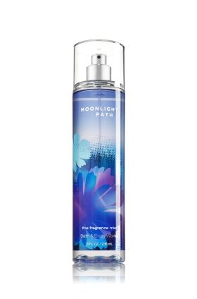 Moonlight Path is a soft blend of lavender, lilies, oak moss & musk Top Notes: Sheer Lavender, Bergamot Mid Notes: Star Rose, White Jasmine, Violet, Ylang Ylang, Lily of the Valley Dry Notes: Sandalwood, Vetiver, Oakmoss, Vanilla, Amber, Soft Musk