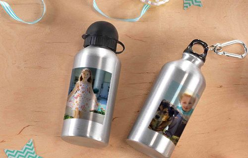 Hliníkova fľaša na pitie
