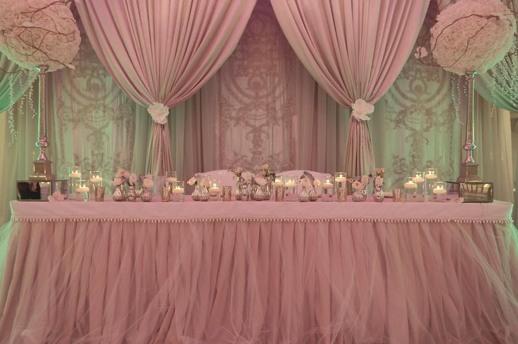 Pink And Grey Wedding Tablescapes In Something Blue