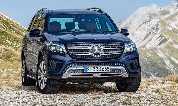 Mercedes-Benz GL | GLS (2017)