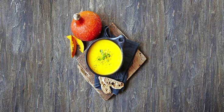 Nyd græskar i suppeform – smagfuld og nem aftensmad.