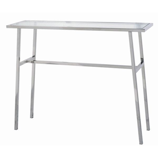 Base Minimal Stainless Steel Console Table