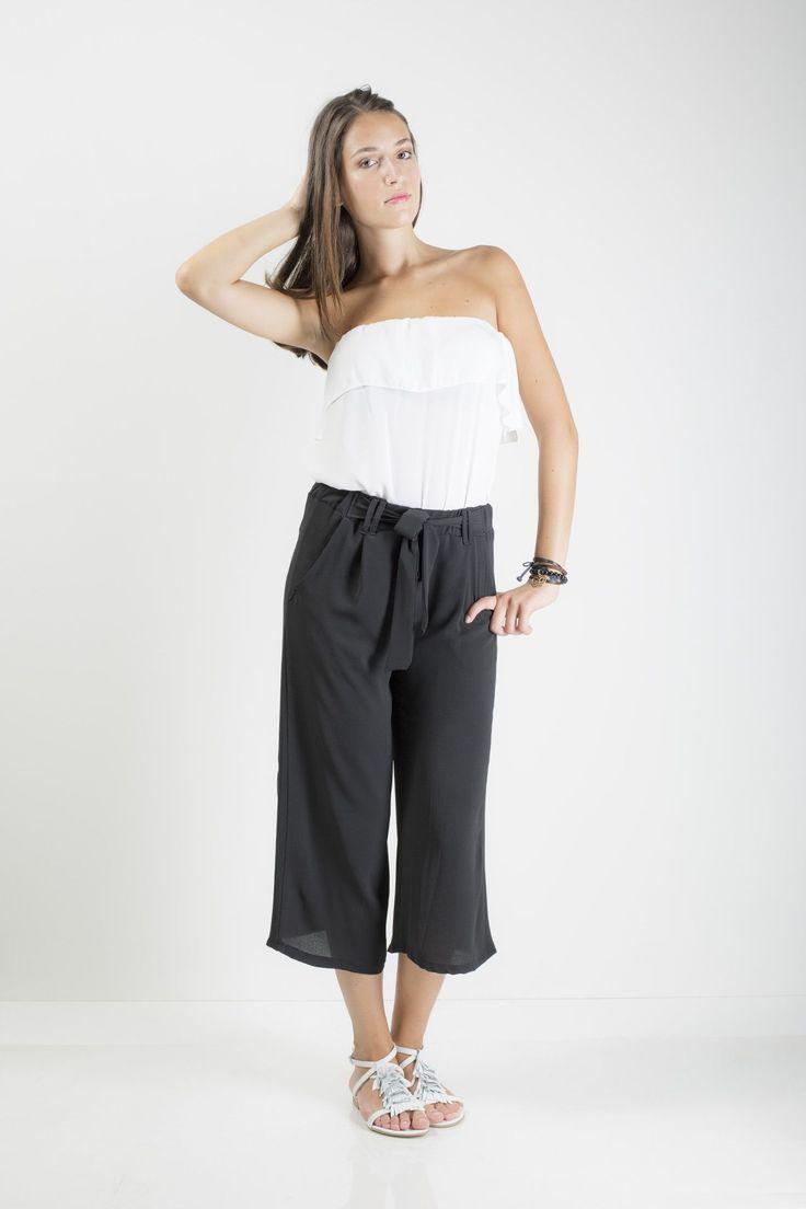 Vestibilità regular Elastico in vita con fioco Modello 3/4 Palazzo Tasche anteriori modello uomo