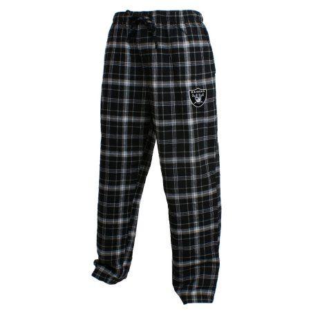"Oakland Raiders NFL ""Ultimate"" Men's Flannel Pajama Pants - Walmart.com"