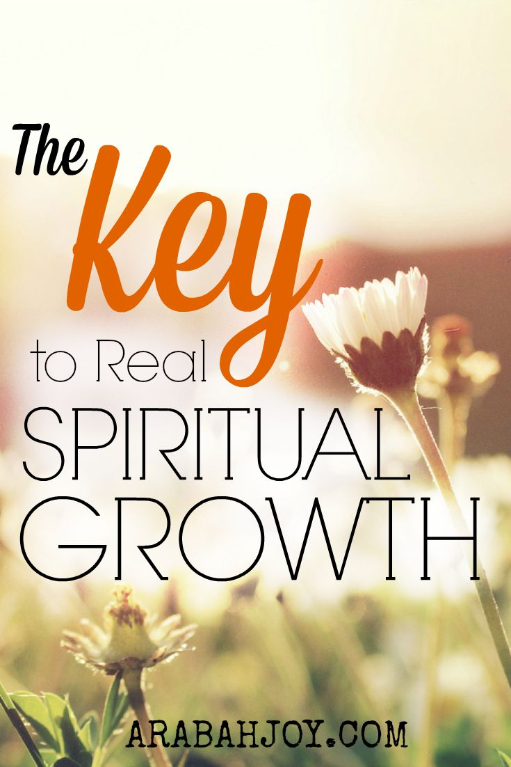 The one thing necessary for spiritual growth and formation