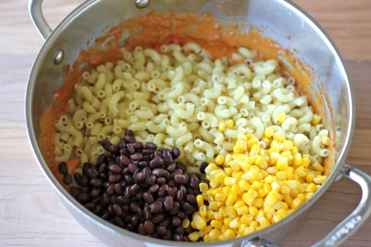 Mac and Cheese - A fun tex-mex twist on the traditional mac and cheese ...