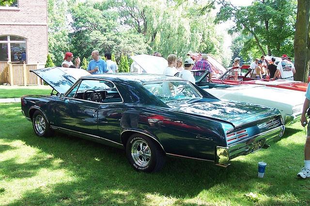 67 Pontiac  GTO(5)    Car photo