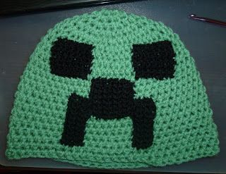Amigurumi and Japan passion: Minecraft hat pattern