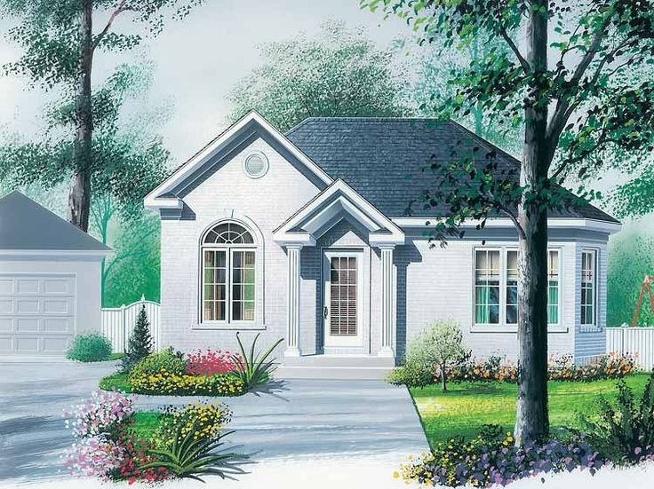 210 best Cottage Plans images on Pinterest   Small houses, Small ...