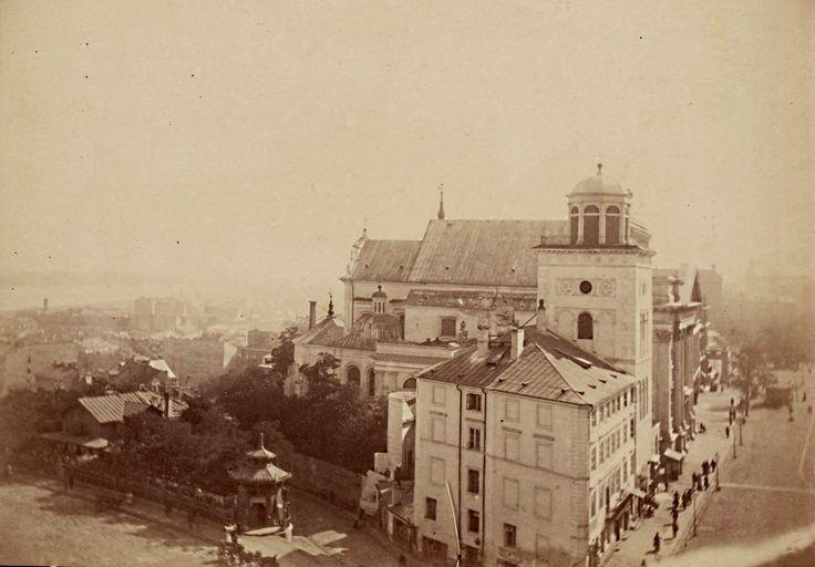 1865. Замковая площадь