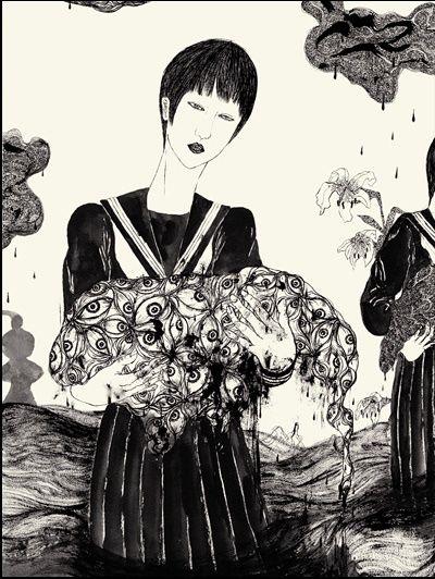 Grossesse Nerveuse - Ichiba Daisuke - couverture