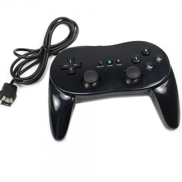 #Classic #Controller #Wii #WiiU Black #promoted #news Ubetechno #ubetechnodeals $16.65