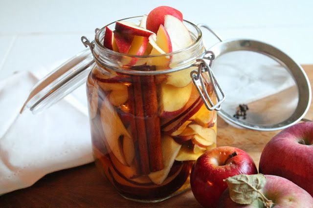 the chef's wife: Pickled Cinnamon Cider Apples // On Smoking (Week ...