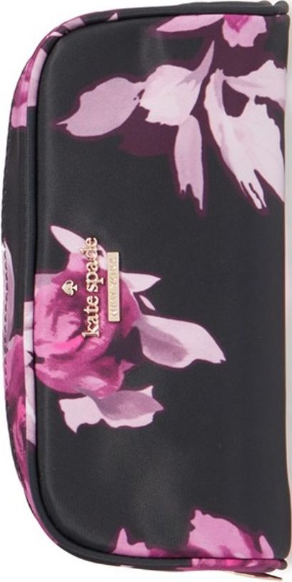 •Website: http://www.cuteandstylishbags.com/portfolio/kate-spade-new-york-black-multi-classic-berrie-floral-cosmetics-case/ •Bag: Kate Spade New York Black Multi 'Classic Berrie' Floral Cosmetics Case