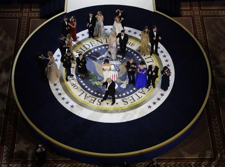 Las mejores imágenes de los tres bailes de gala en honor al presidente Trump