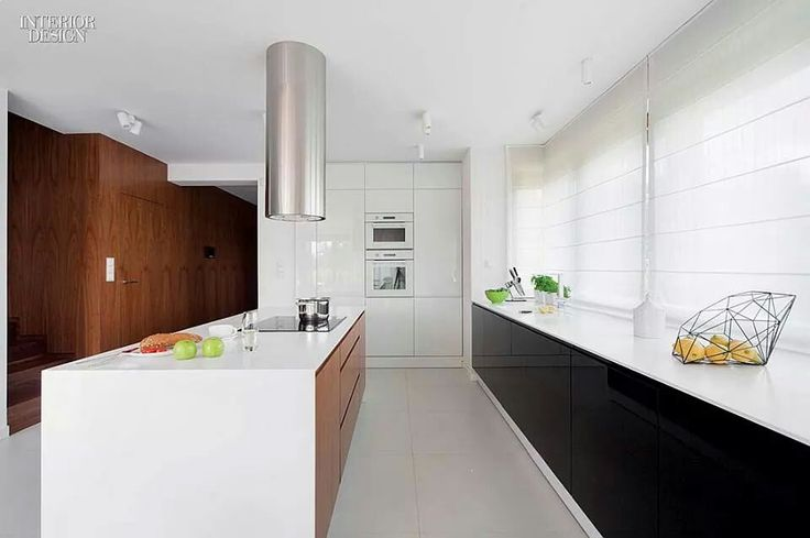Modern classy white kitchen