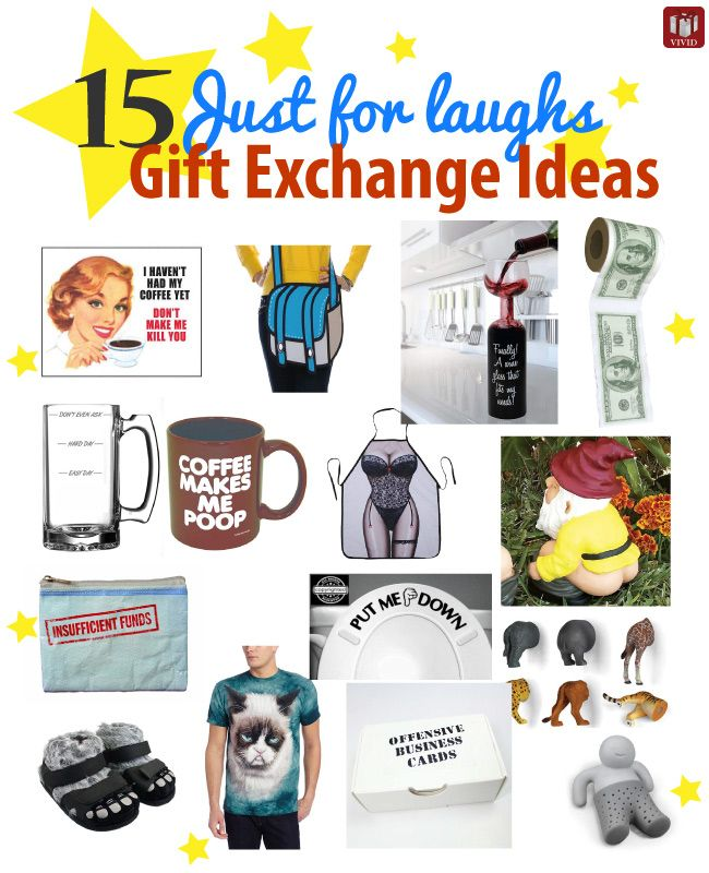 15 Just For Laughs Funny Gift Exchange Ideas Funny