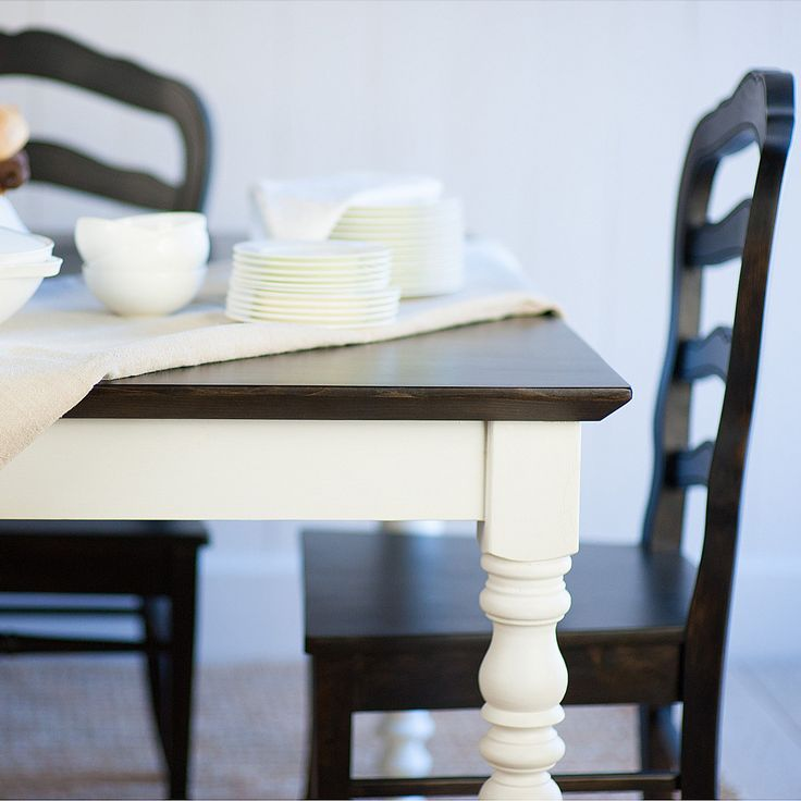 Bradshaw Kirchofer Custom Made English Farmhouse Dining Table :: Bradshaw  Kirchofer Handmade Furniture