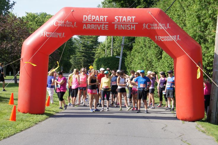 Running Room Pointe-Claire sponsoring 20th anniversary run
