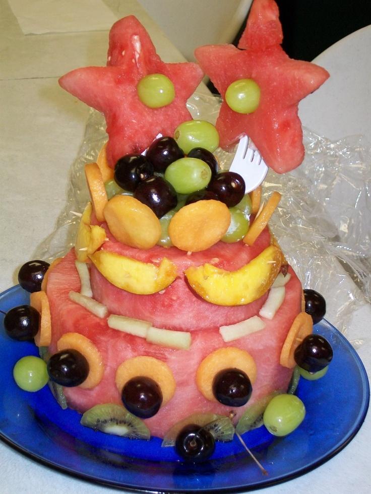 """Watermelon """"cake""""   ideas for Meike   Pinterest ..."""