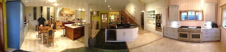 TaylorMade by Stanton - Showroom - Displaying a selection of hand built kitchens and leading appliances