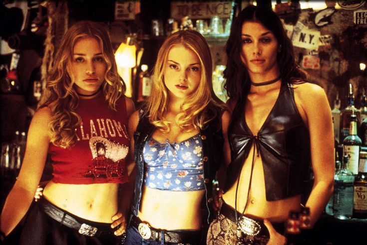 Left to right: Jersey, Cami The Tease, & Rachel the Flame