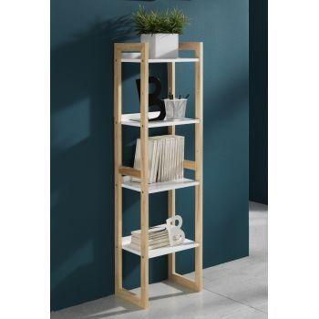 Raft Etajera din lemn masiv Varm living - merita sa alegi aceasta piesa simpla si eleganta de mobilier pentru sufrageria ta. #homedesign #DecoStores #decoratiuniinterioare #rafturideliving #rafturi #livingroomshelves