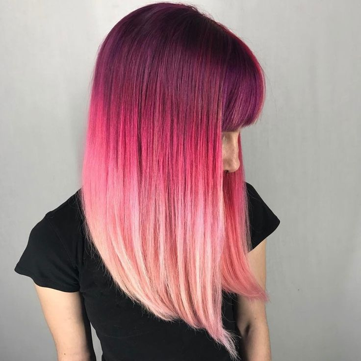 {#VPInspiration} Mad about this amazing rose ombre Hands up if you want try it Color by @shmeggsandbaconn