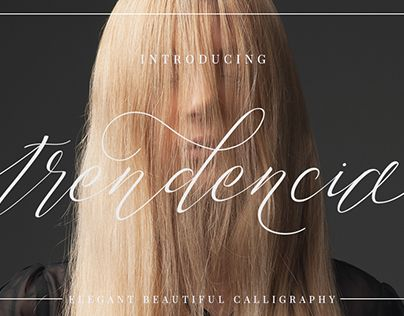 """Check out new work on my @Behance portfolio: """"TRENDENCIA SCRIPT"""" http://be.net/gallery/46884631/TRENDENCIA-SCRIPT"""