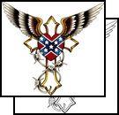confederate flag tattoos - Google Search