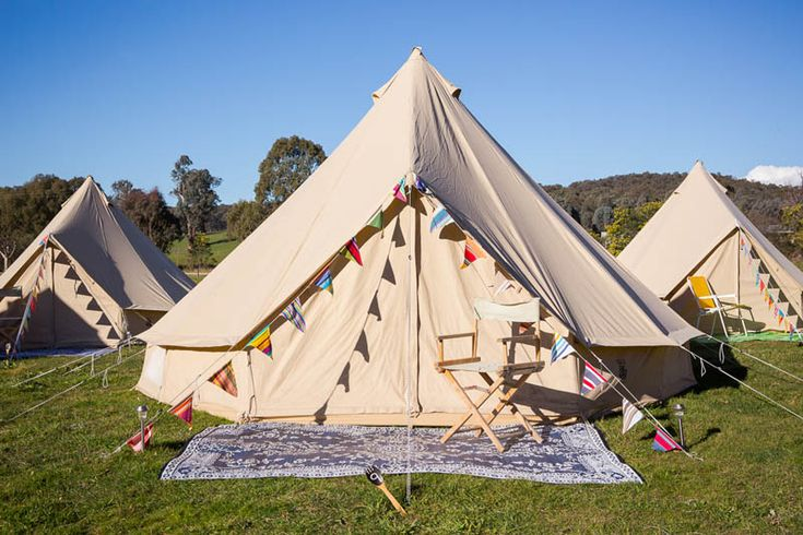 Dale and Luke's wedding, Happy Glamper bell tents, Stefani Driscoll Photography