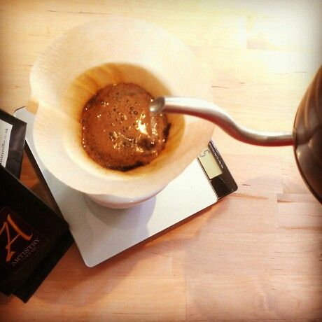 #GoodMorning with #V60 #DripFilter #PourOver #Coffee