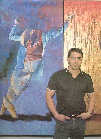 German Londoño, pintor, en 2003 la violencia es su tema - Foto: Guillermo Gama