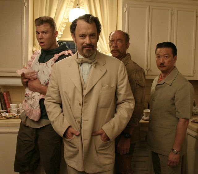 Tom Hanks, Ryan Hurst, Tzi Ma and J.K. Simmons in 'The Ladykillers' 2004 (While I didn't really like this movie, the scene in the Waffle Hut cracks me up every time!)