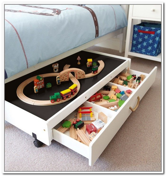 Rolling Underbed Storage Drawers