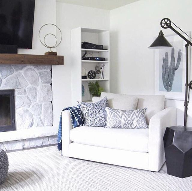 The Berg Chair Marks The Spot Where Well Be Sitting Out Sunday Jaclynhdesigns Living Room Decor Living Room Family Room