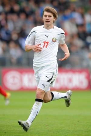 Andrei Voronkov - Belarus Forward (87' minture). Scored a goal to bring Belarus to 1-3 behind Egypt, in a match Belarus eventually lost by that same scoreline.