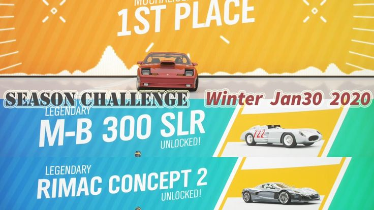 Forza horizon 4 how to win mb 300 slr on season event
