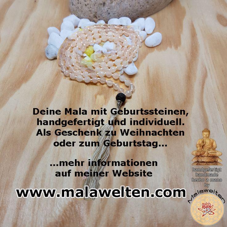 #Geburt #geburtstag #Gebetskette #Buddhismus #malawelten #weihnachten #handmade #individuell #yoga #meditation