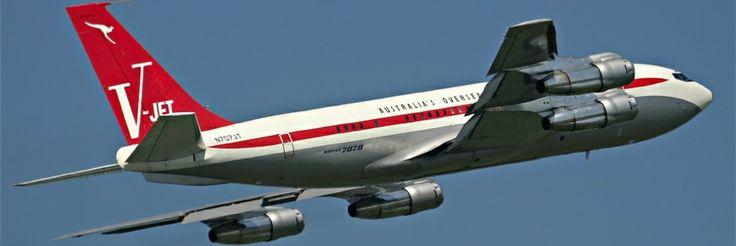 John Travolta Boeing 707