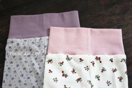 腹巻きパジャマ縫いました☆ | ☆Wheelchair Life☆