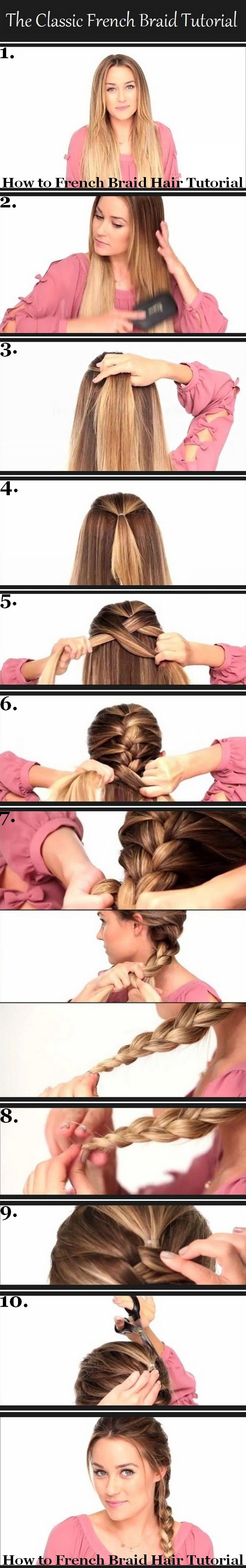 When I see this tutorial all I can think about is accidentally cutting off all my hair. If DIE.