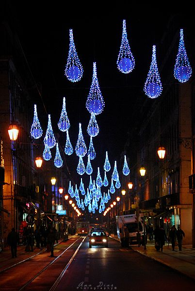 Christmas in Lisbon, Portugal