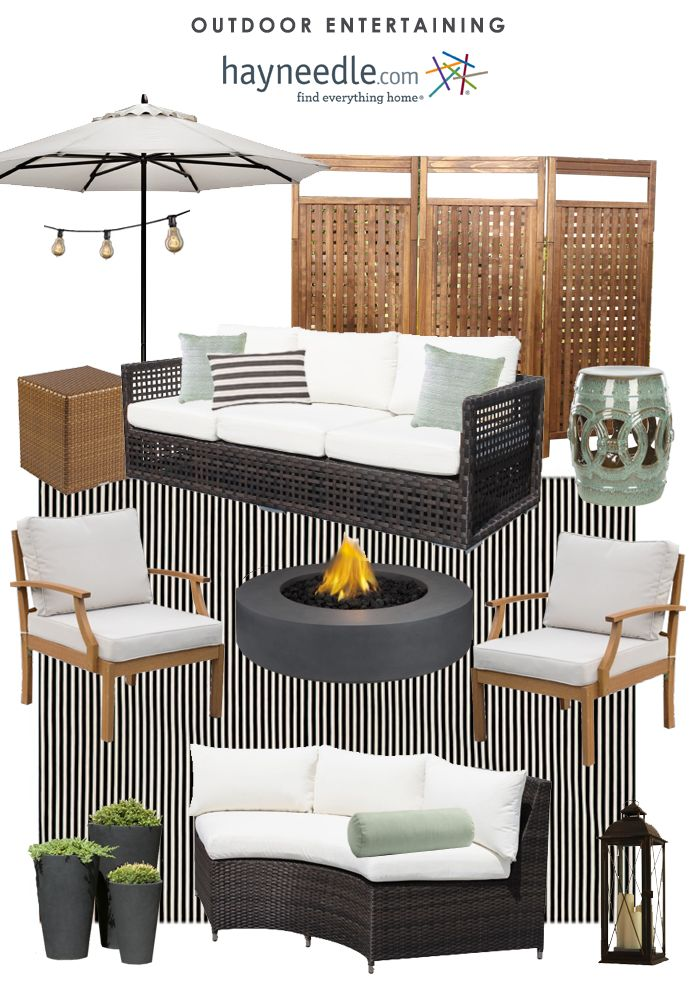 Outdoor Entertaining with hayneedle.com