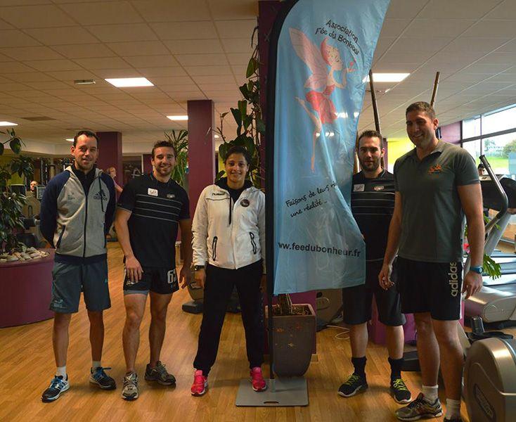 Soutient à l'association Fée du Bonheur dans la salle de fitness Sybé Sport à #Brest
