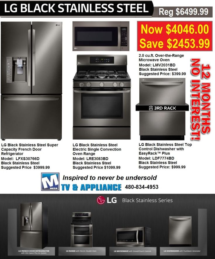 Model home appliances for sale