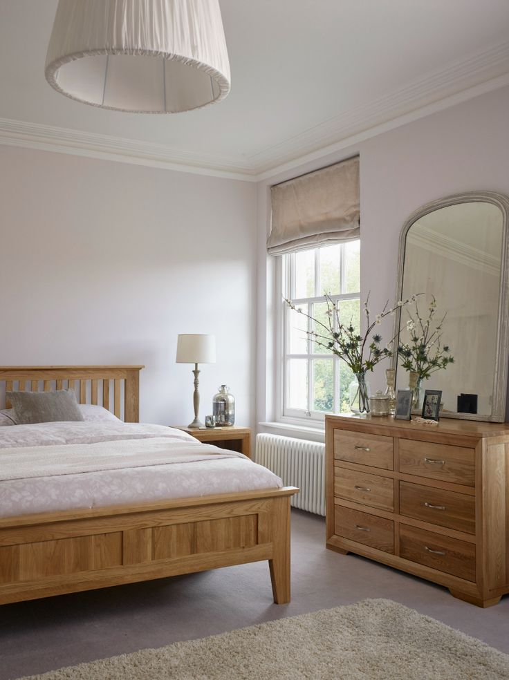 oak furniture bedroom land white sets wood set sale